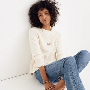 Madewell Patch Pocket Knit Sweater
